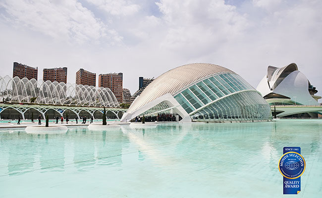 授賞式会場The City of Arts and Sciences